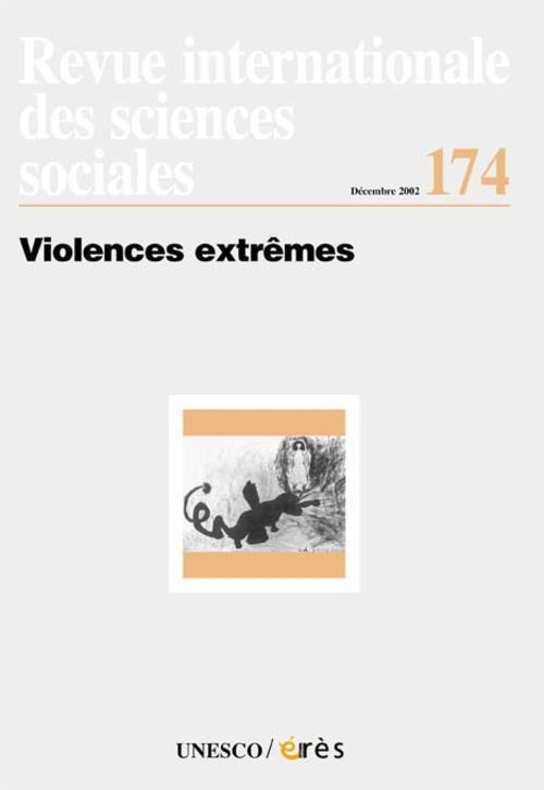 Revue riss t.174; violences extremes
