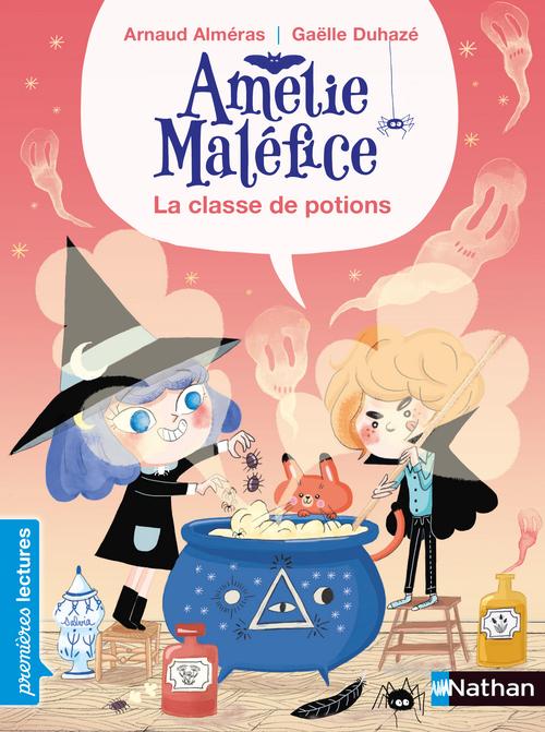 Amélie Maléfice ; la classe de potion