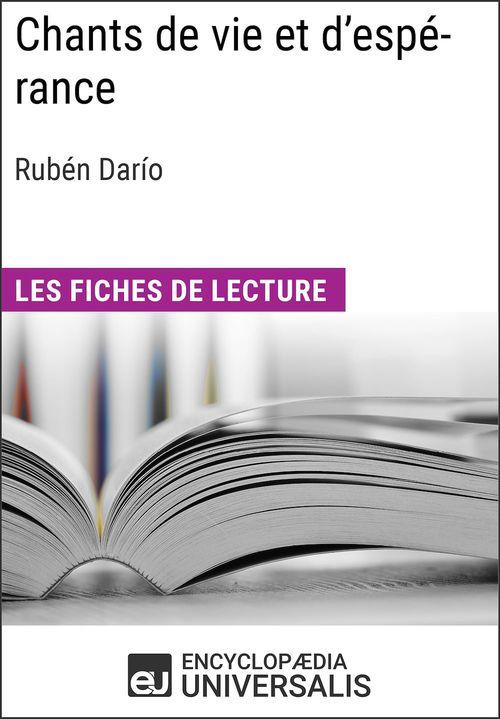 Chants de vie et d'espérance de Rubén Darío