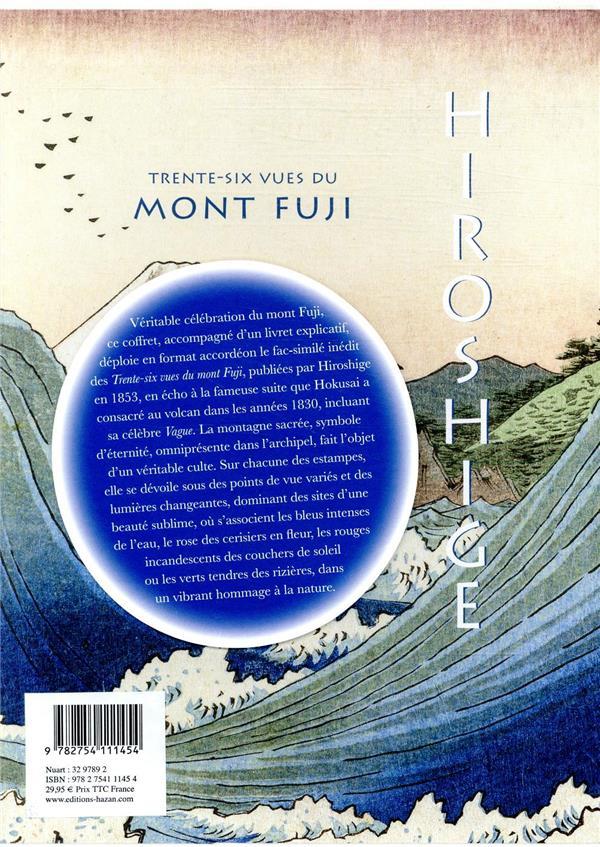 Hiroshige ; les trente-six vues du mont Fuji