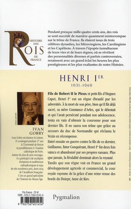 Henri Ier, 1031-1060, fils de Robert II Le Pieux