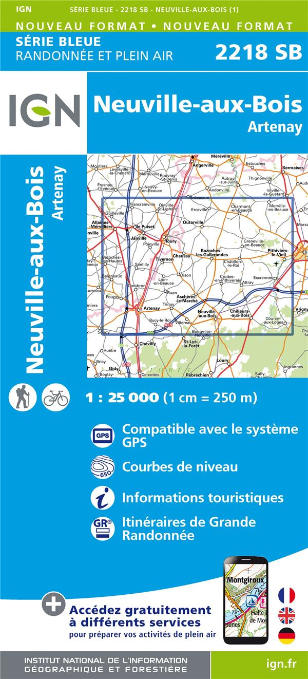 2218SB ; Neuville-aux-Bois-Artenay
