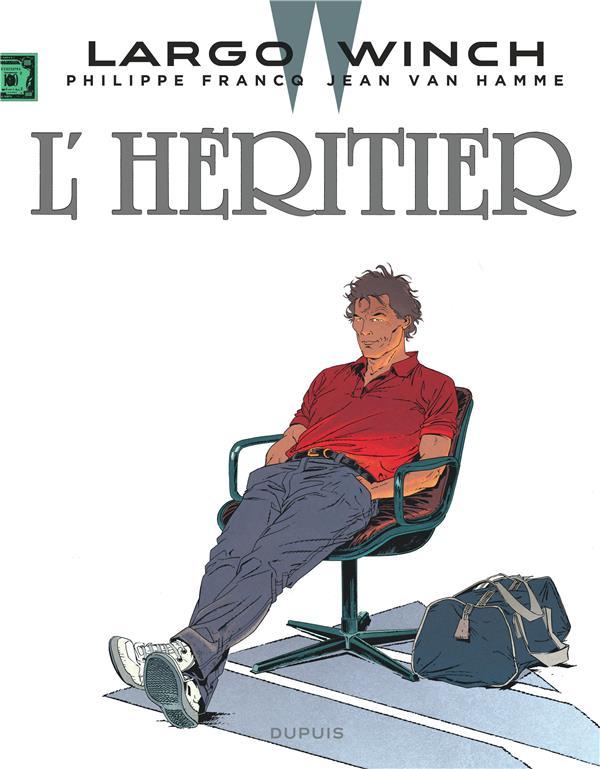 LARGO WINCH - TOME 1 - L'HERITIER (GRAND FORMAT) Van Hamme Jean