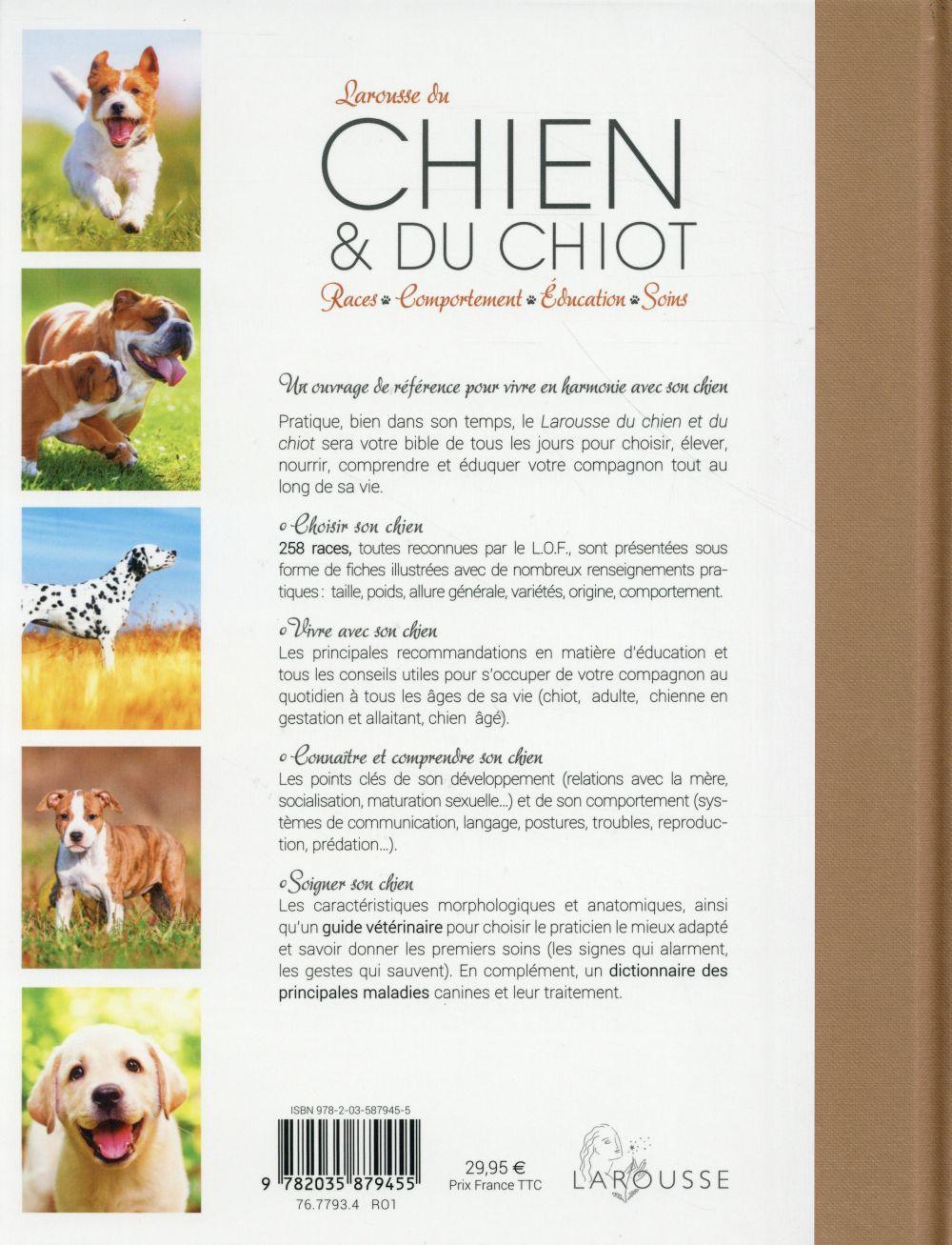 Larousse Du Chien Et Du Chiot Pierre Rousselet Blanc Larousse Grand Format Paroles St Mande