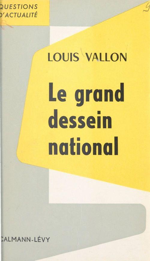 Le grand dessein national