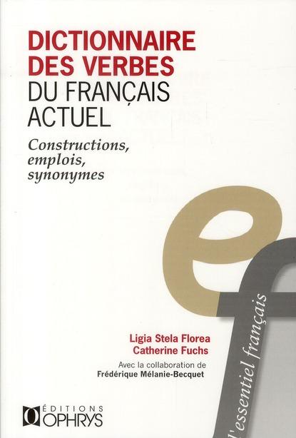 Dictionnaire des verbes du français actuel