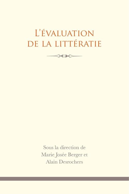 L'évaluation de la littératie