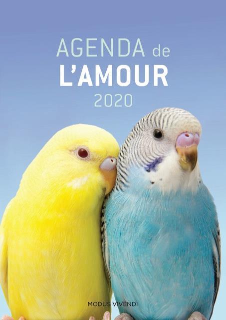 Agenda de l'amour (édition 2020)