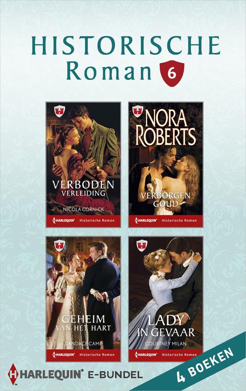 Historische roman e-bundel 6 (4-in-1)