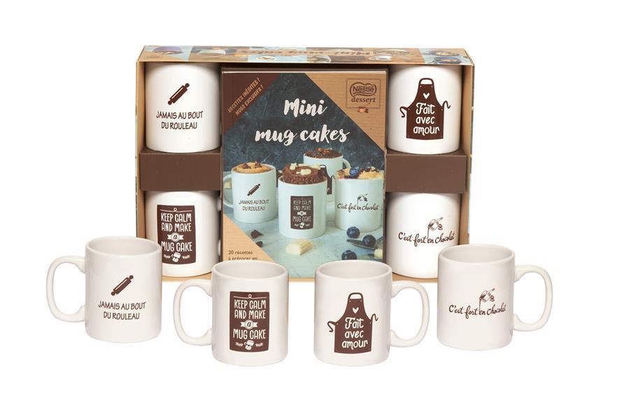 Mini mugs cakes ; Nestlé dessert