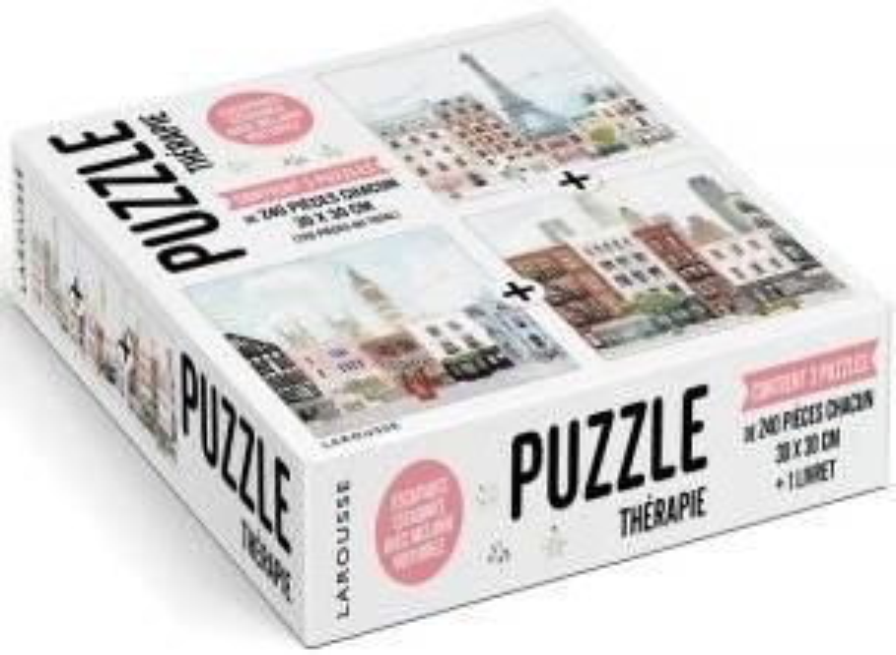 Puzzle thérapie ; escapades citadines