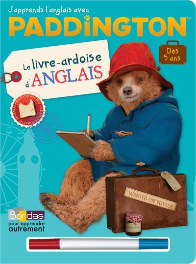 Les livres-ardoises ; Paddington ; j'apprends l'anglais