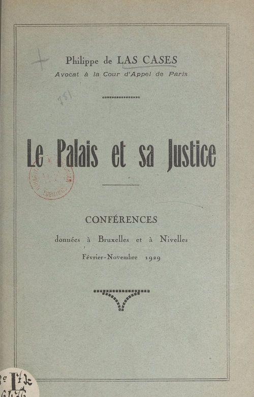 Le palais et sa justice