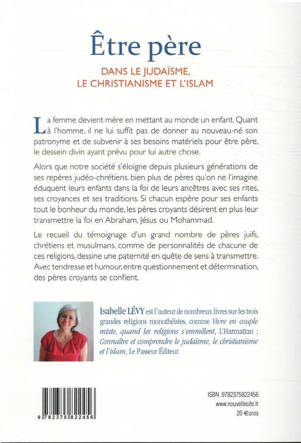 être père dans le judaïsme, le christianisme et l'islam