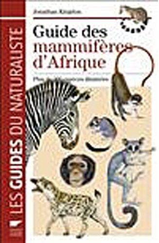 Guide des mammifères d'Afrique
