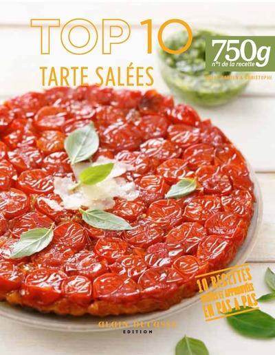 Top 10 of tartes salées