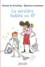 Vente Livre Numérique : La sorcière habite au 47  - Nicolas de Hirsching