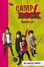 Couverture de Camp rock t.4 ; numéro un !