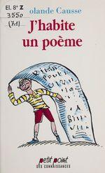 Vente Livre Numérique : J'habite un poème  - Rolande Causse