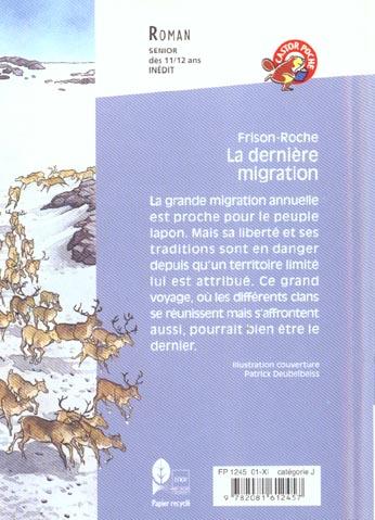 Derniere migration (la)