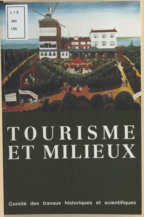 Tourisme et Milieux