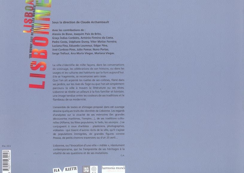Lisbonne ; lisboa