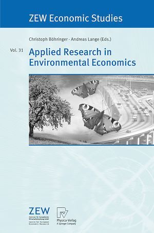 Applied Research in Environmental Economics  - Christoph Bohringer  - Andreas Lange