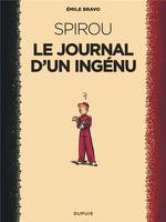 Couverture de Le Spirou D'Emile Bravo - Tome 1 - Le Journal D'Un Ingenu (Reedition 2018)