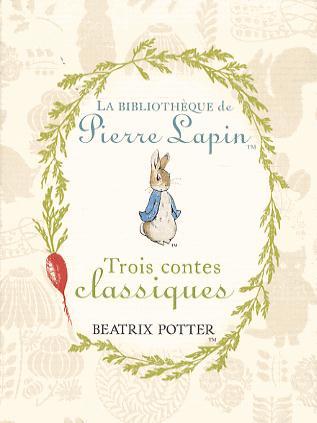 La bibliothèque de Pierre Lapin ; coffret