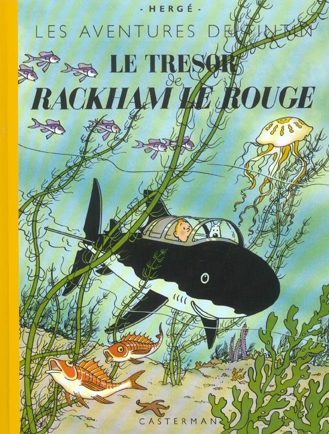 Les aventures de Tintin T.12 ; le trésor de Rackham le rouge