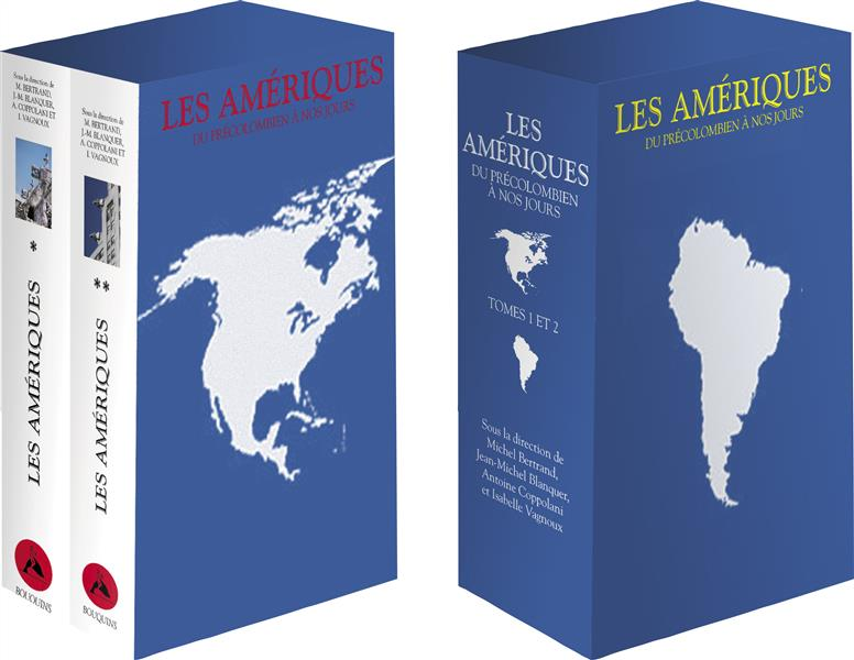 Les Amériques ; coffret t.1 et t.2