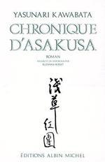 Couverture de Chronique d'asakusa