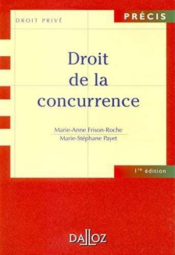 Droit de la concurrence (2e édition)