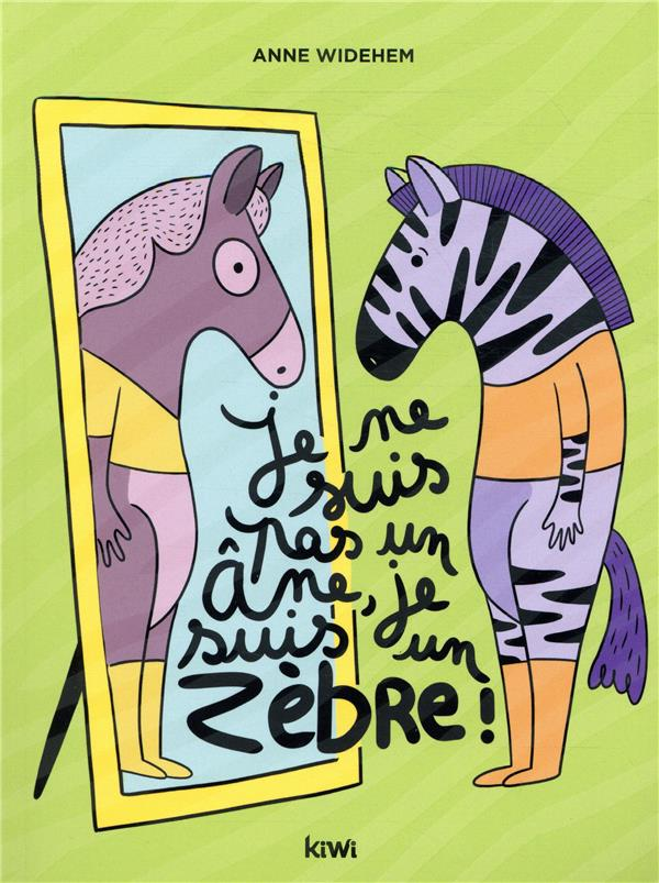 Je ne suis pas un âne,  je suis un zèbre