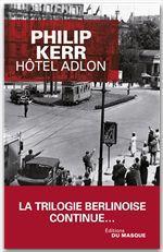 Vente Livre Numérique : Hôtel Adlon  - Philip Kerr
