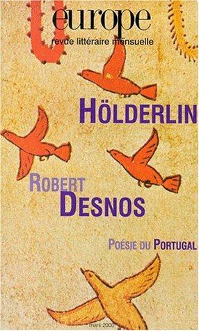 Europe holderlin/robert desnos n851