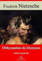 Vente Livre Numérique : Dithyrambes de Dionysos - suivi d'annexes  - Friedrich Nietzsche