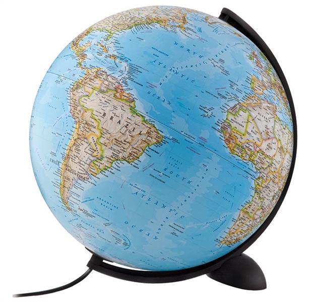 Globe terrestres ; 30 cm silicon classic
