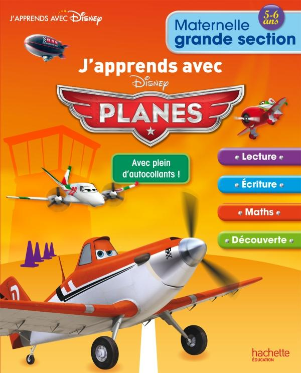 J'apprends avec Planes ; grande section