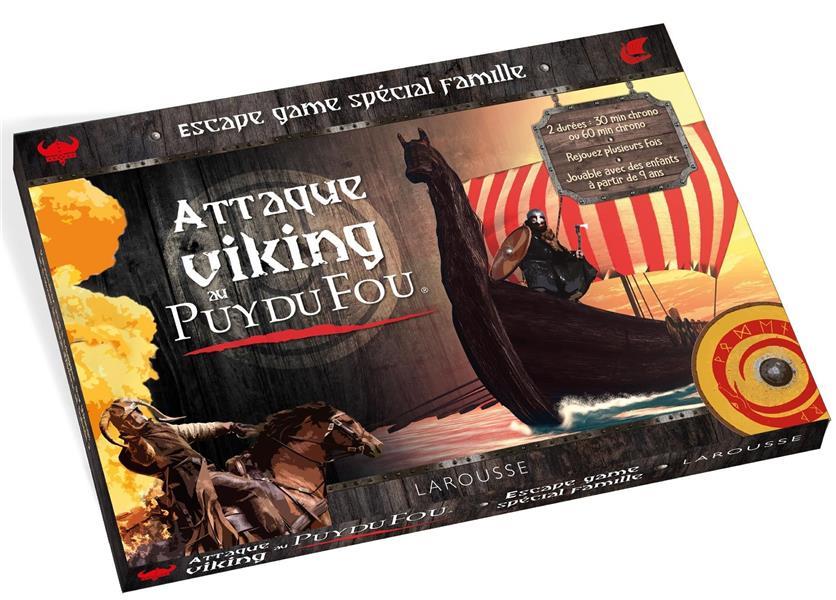 Escape game spécial famille ; attaque viking au Puy du Fou