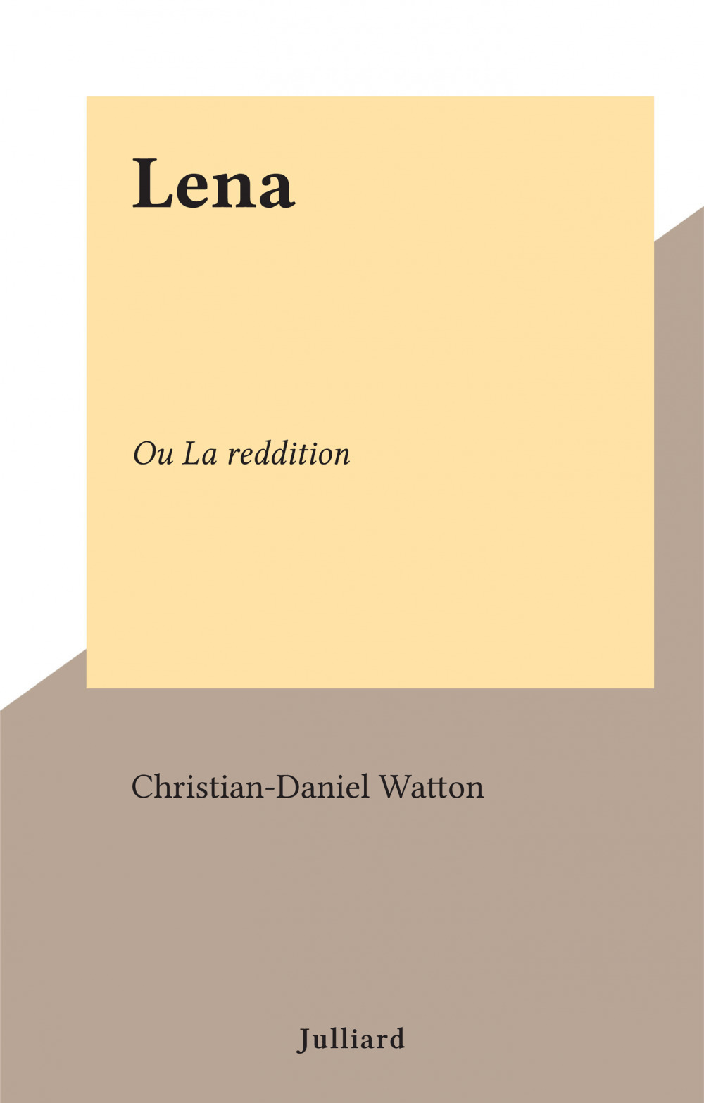 Lena  - Christian-Daniel Watton