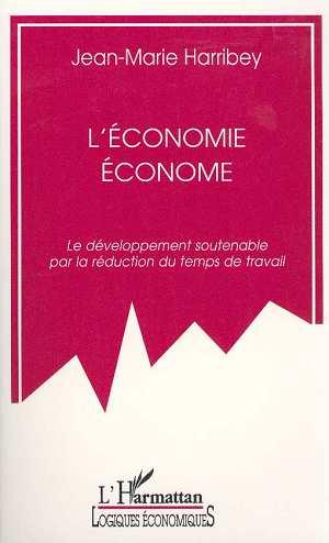 Vente EBooks : L'économie économe  - Jean-Marie Harribey
