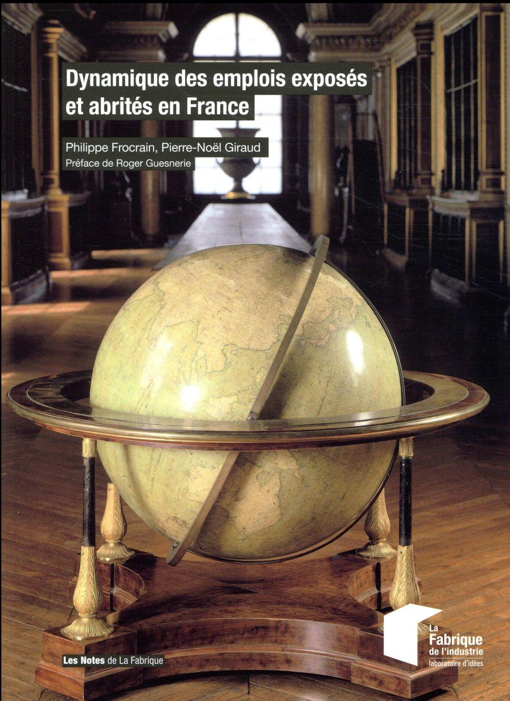 Dynamique des emplois exposés et abrités en France