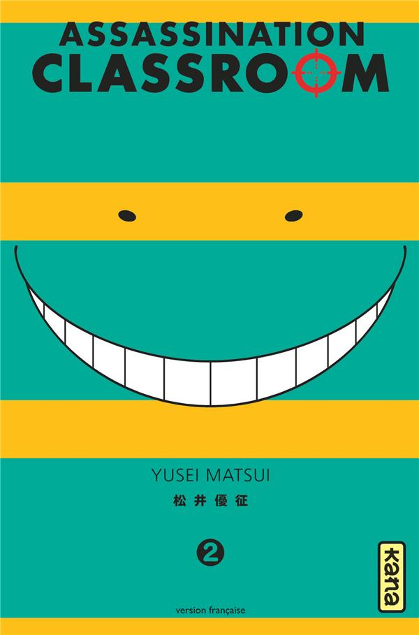 Assassination classroom T.2
