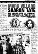 Vente Livre Numérique : Sharon Tate ne verra pas Altamont  - Marc Villard