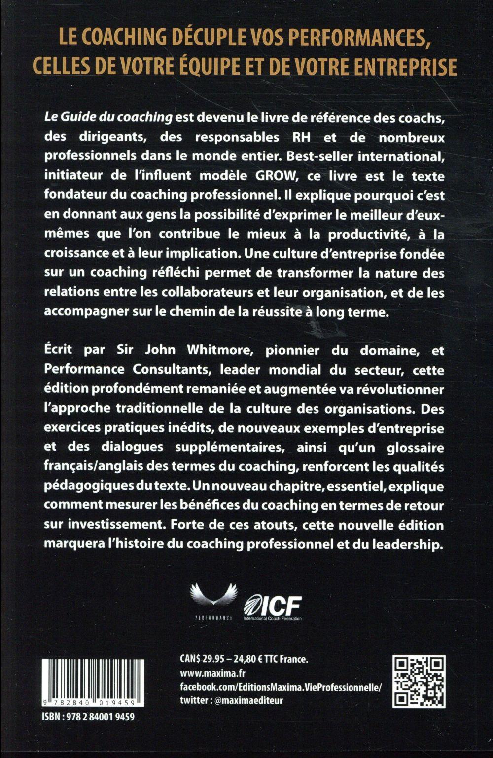 Le guide du coaching (5e édition)