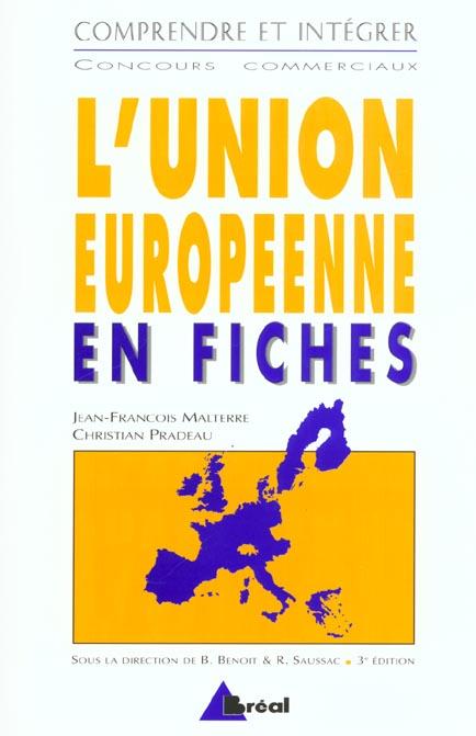 L'Union européenne en fiches