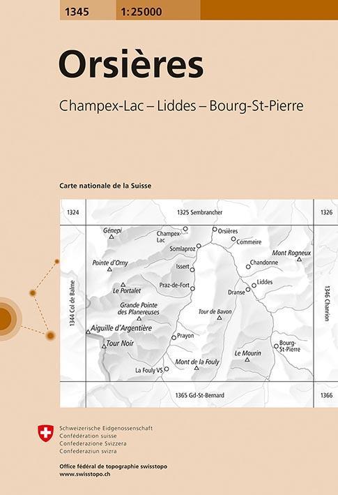 Orsières, Champex-Lac, Liddes, Bourg-St-Pierre