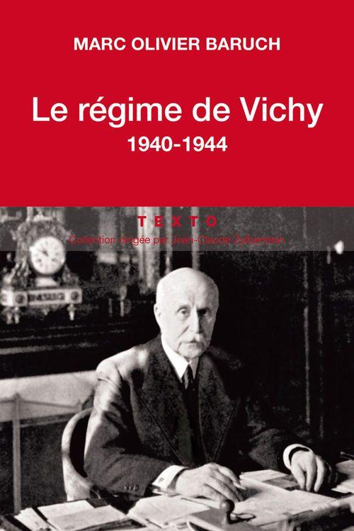 Le régime de Vichy 1940-1944