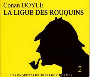 Les enquêtes de Sherlock Holmes t.2 ; la ligue des rouquins